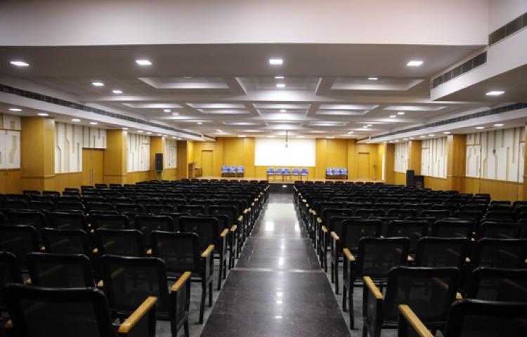 G Madegowda BNYS College Auditorium