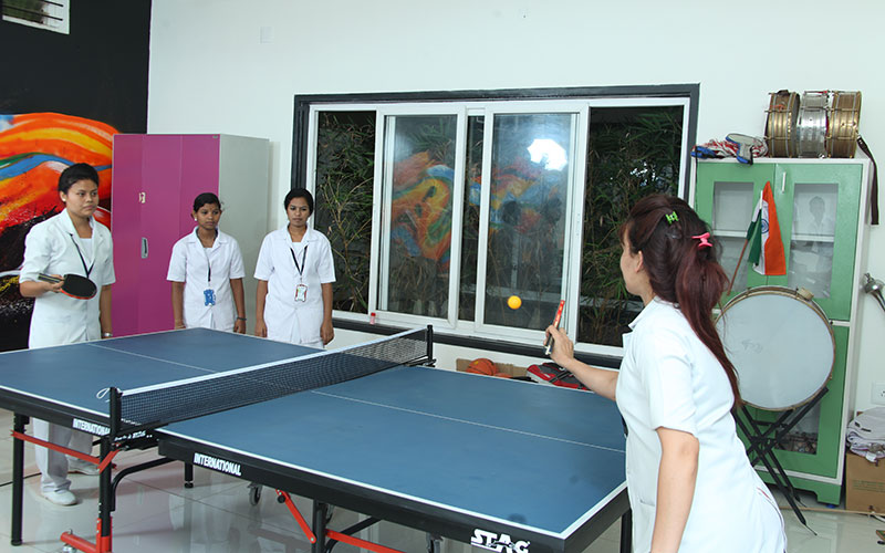 Harsha Paramedical College Sports